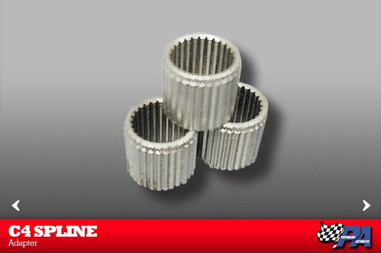 C4 Spline Adapter