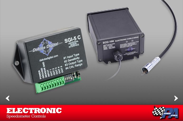 Electronic Speedometer Controls