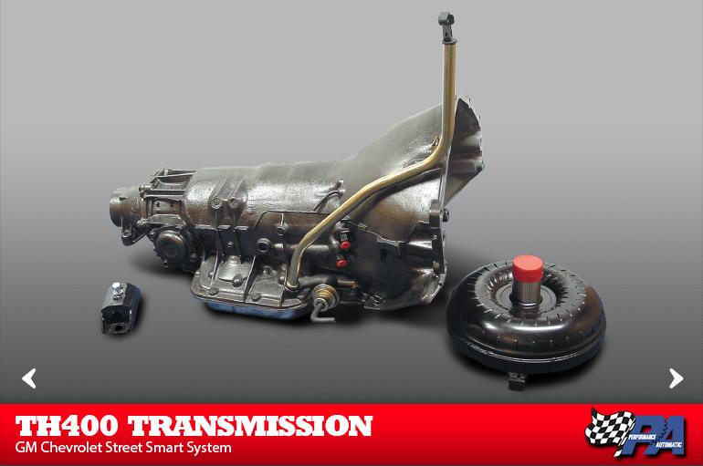 TH400 Street Smart System Transmission