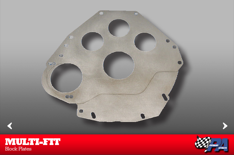 Ford Block Plates