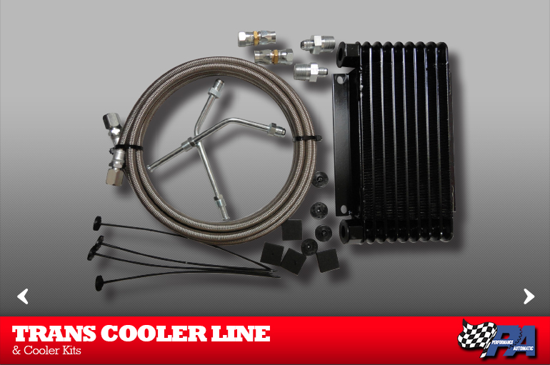 Trans Cooler Line and Cooler Kits