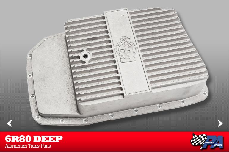 6R80 Deep Aluminum Trans Pan